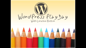 wordpress play day